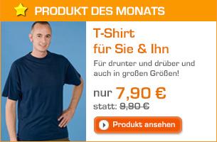 T-Shirt für Sie & Ihn für 5,90 €
